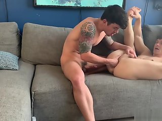 hunks, horny, film, anal, fisting, session