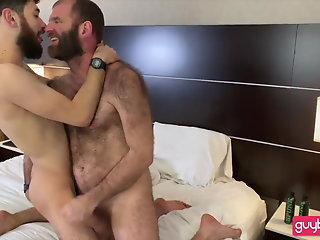 hirsute, bearded, dad-hairy, ass, son:, bj-rim-bb-seeding